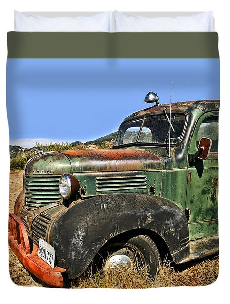 1940s Dodge Truck Duvet Cover