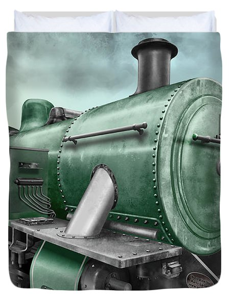 1940's Steam Train Duvet Cover