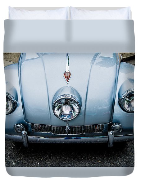 Duvet Cover featuring the photograph 1947 Tatra T87 by M G Whittingham