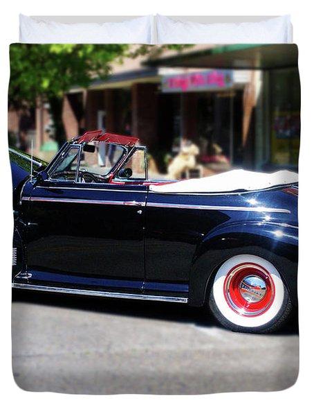 1941  Chevrolet Convertable Duvet Cover