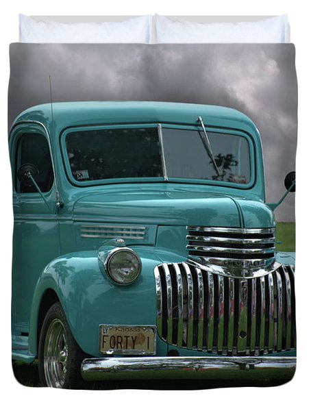 1941 Chevrolet Pickup Truck Duvet Cover