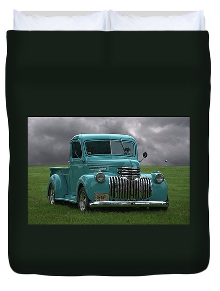 1941 Chevrolet Pickup Truck Duvet Cover by Tim McCullough