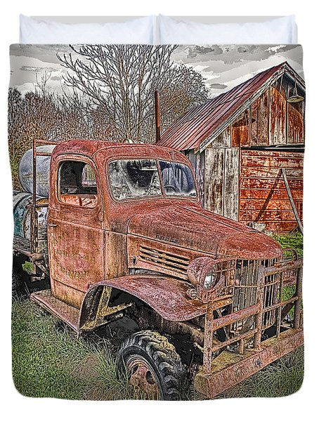 1941 Dodge Truck #2 Duvet Cover