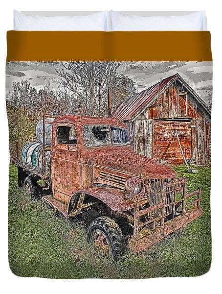 1941 Dodge Truck #2 Duvet Cover