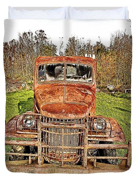 1941 Dodge Truck 3 Duvet Cover