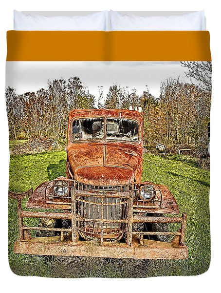 1941 Dodge Truck 3 Duvet Cover