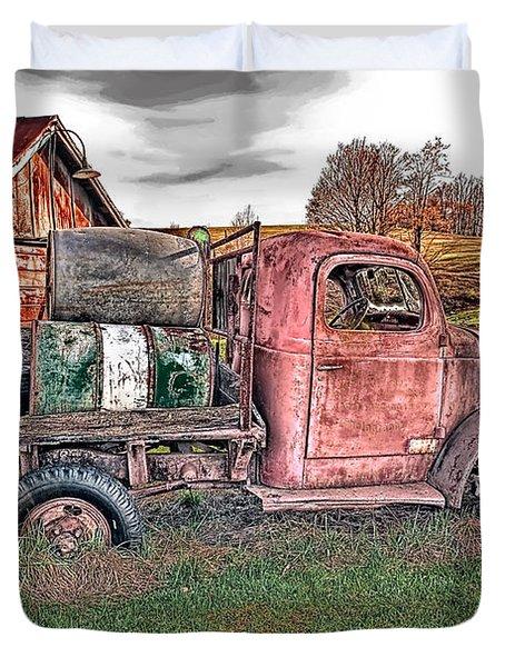 1941 Dodge Truck Duvet Cover