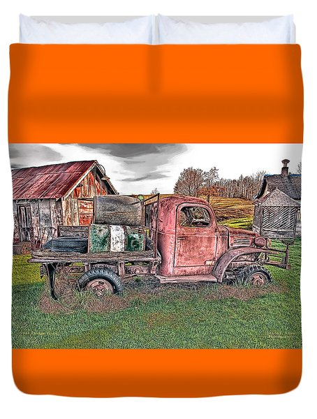 1941 Dodge Truck Duvet Cover