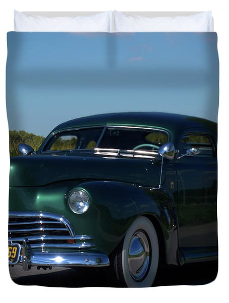 1941 Ford George Barris Custom Duvet Cover