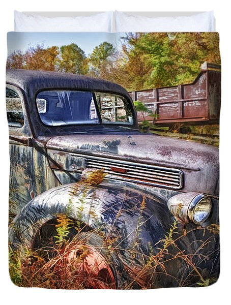 1941 Ford Truck Duvet Cover