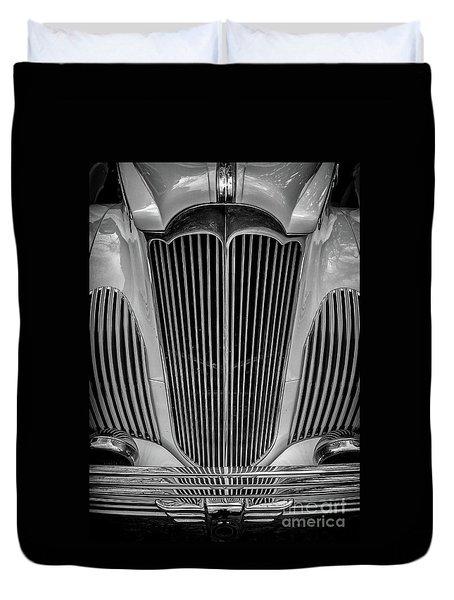 1941 Packard Convertible Duvet Cover