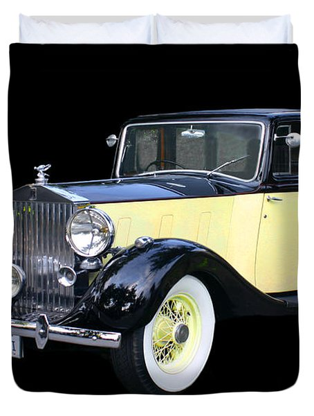 1941 Rolls-royce Phantom I I I  Duvet Cover by Jack Pumphrey