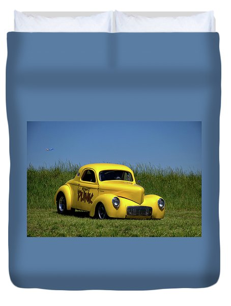 1941 Willys Coupe Duvet Cover by Tim McCullough