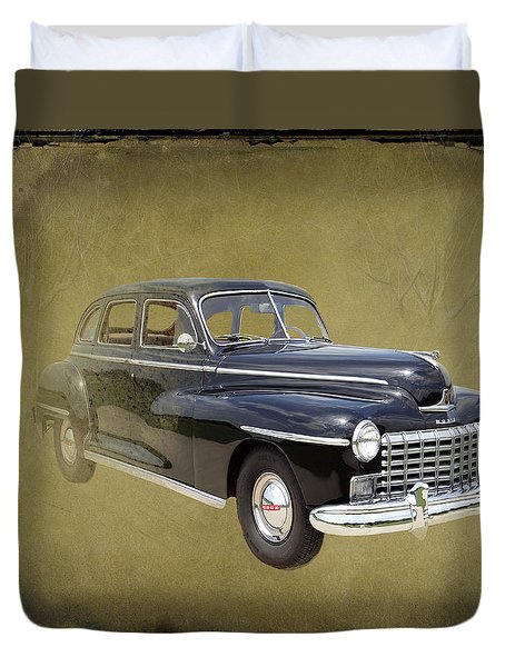 1946 Dodge D24c Sedan Duvet Cover