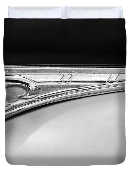 1947 Dodge Gi Joe Hood Ornament 2 Duvet Cover by Jill Reger