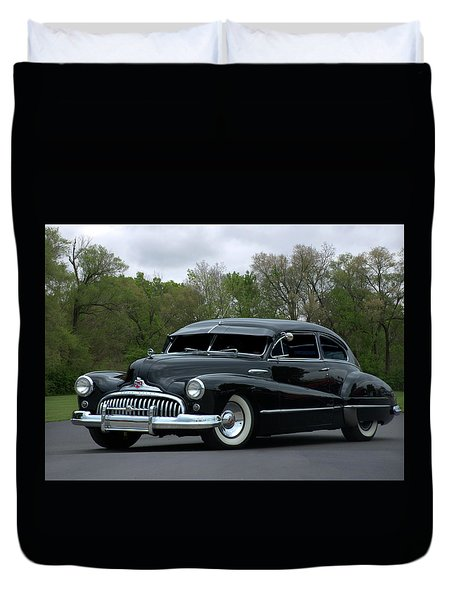 1948 Buick Duvet Cover by Tim McCullough