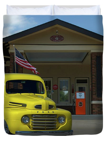 1948 Ford F1 Pickup Truck Duvet Cover