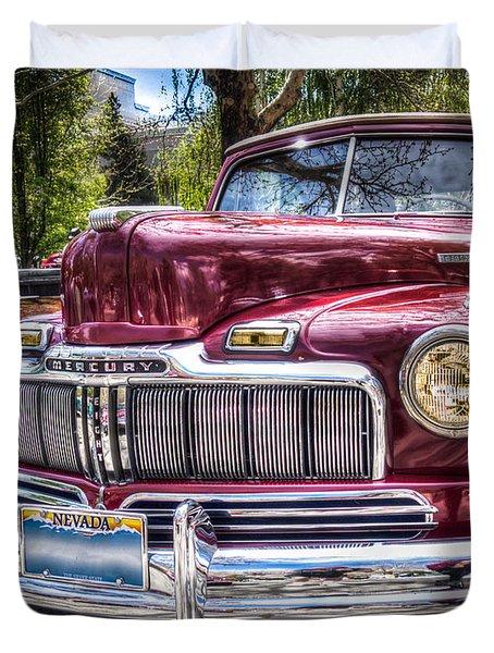 1948 Mercury Convertible Duvet Cover