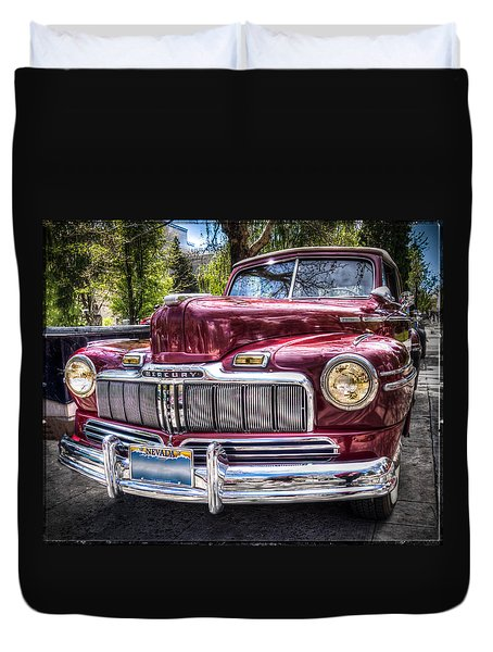 1948 Mercury Convertible Duvet Cover
