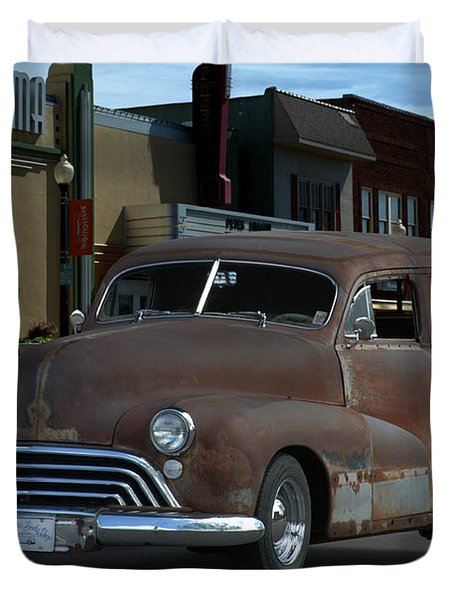 1948 Oldsmobile Sedan Delivery Duvet Cover