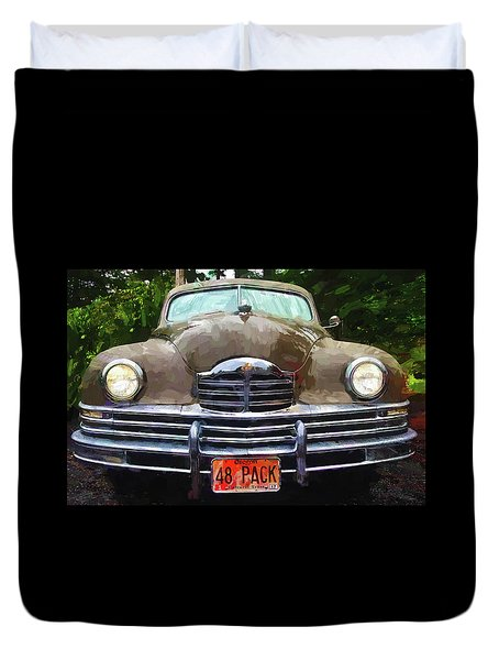 1948 Packard Super 8 Touring Sedan Duvet Cover