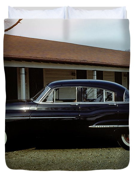 1950 Oldsmobile Futuramic 88 Convertible Duvet Cover