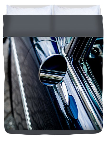 Duvet Cover featuring the photograph 1950s Chevrolet by M G Whittingham