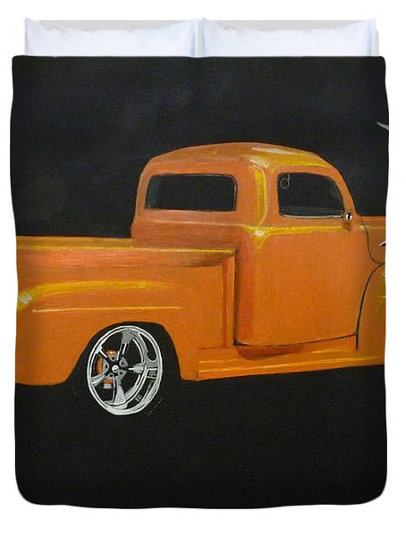1952 Ford Pickup Custom Duvet Cover