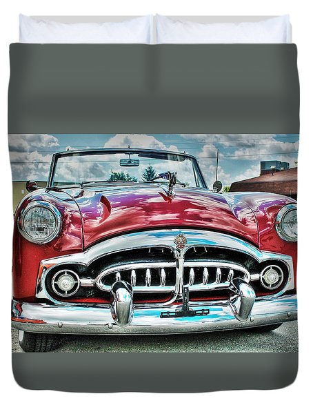 1952 Packard Duvet Cover