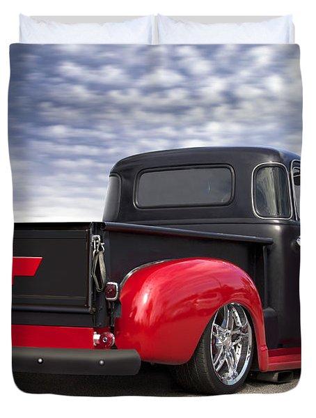 1954 Chevy Truck Lowrider Duvet Cover