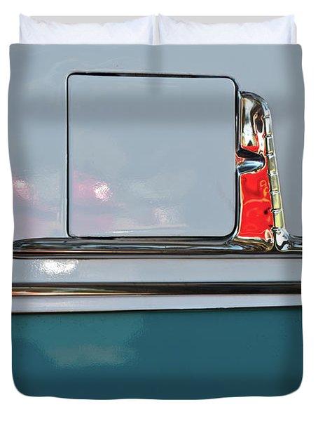 1955 Chevy Belair 2 Door Duvet Cover