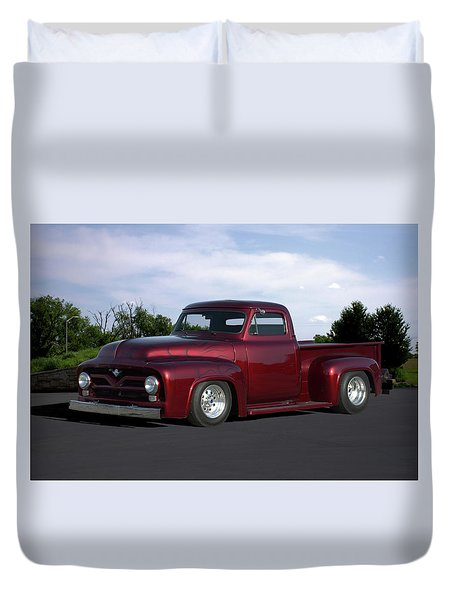 1955 Ford Pickup Duvet Cover