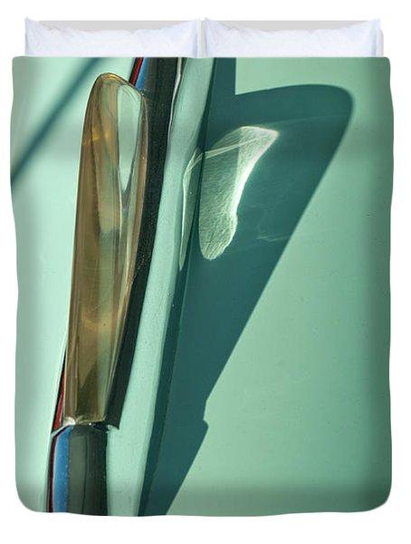 1955 Studebaker Hood Ornament 2 Duvet Cover