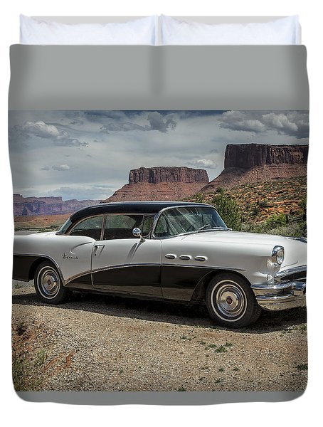 1956 Buick Special Duvet Cover