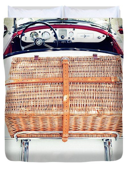 1956 Mga Roadster Duvet Cover