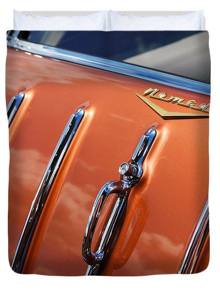Duvet Cover featuring the photograph 1957 Chevrolet Nomad by Gordon Dean II