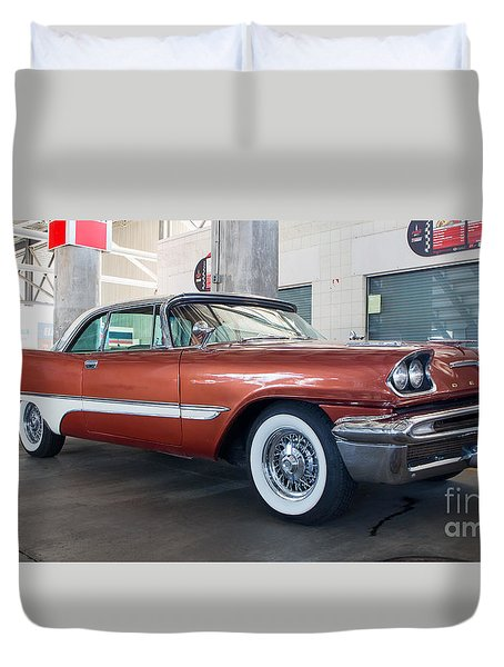 1957 Desoto Duvet Cover