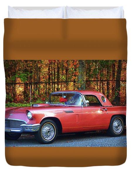 1957 Thunderbird  003 Duvet Cover