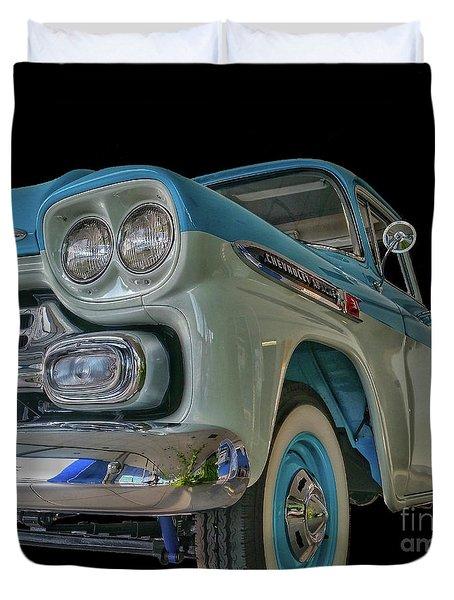 1959 Chevrolet Apache Duvet Cover