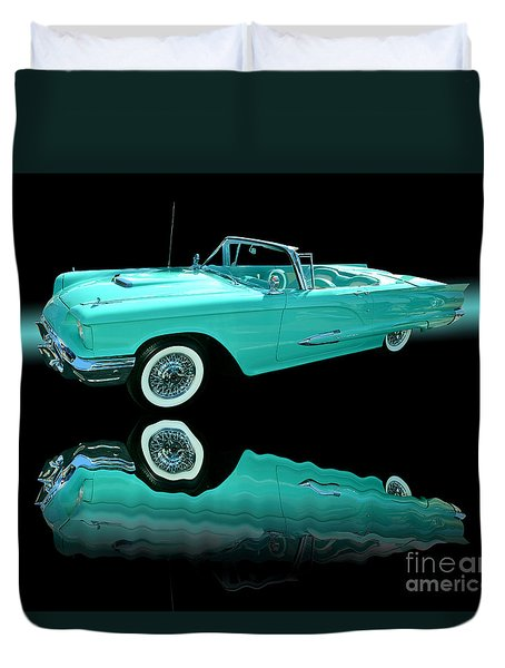 1959 Ford Thunderbird Duvet Cover