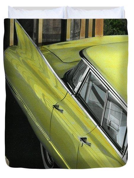 1960 Cadillac Duvet Cover