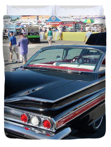 1960 Chevy Impala Ss Duvet Cover