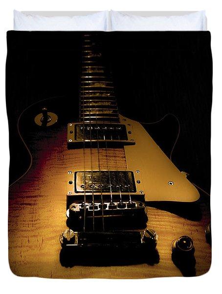 1960 Reissue Guitar Spotlight Series Duvet Cover