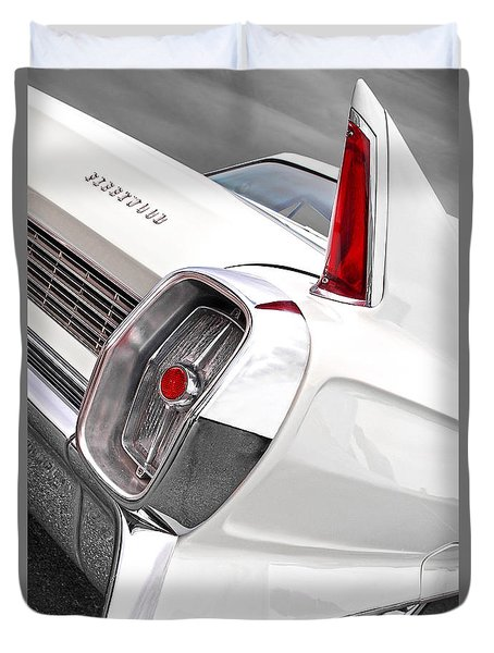 1960s Cadillac Fleetwood Duvet Cover