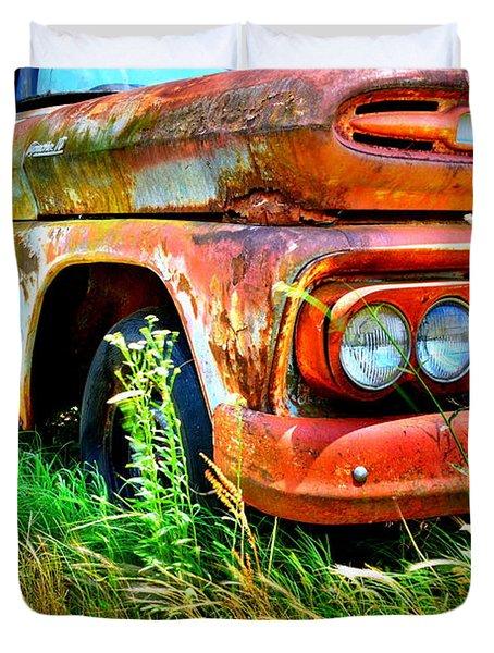 1961 Chevrolet Apache 10 5 Duvet Cover