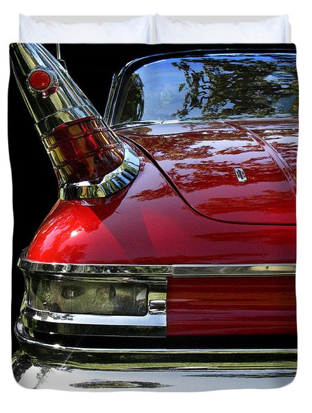 1961 Desoto Duvet Cover by Peter Piatt