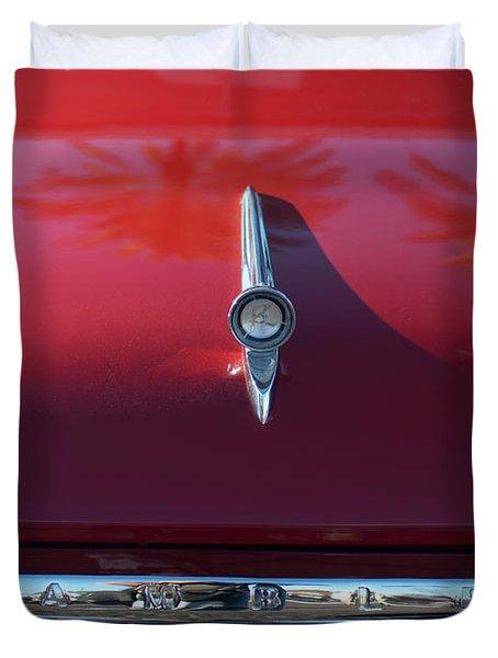 1961 Rambler Hood Ornament 2 Duvet Cover