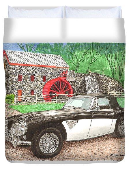 1963 Austin And Sudbury Mill Duvet Cover by Jack Pumphrey