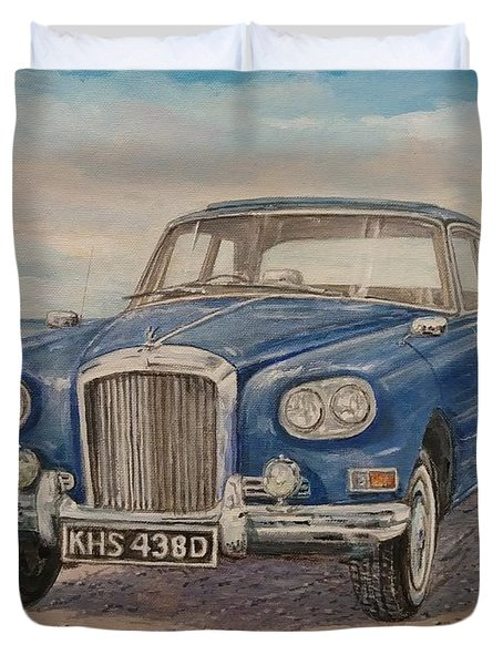 1963 Bentley Continental S3 Coupe Duvet Cover