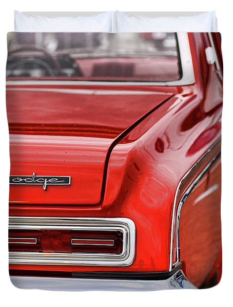 1963 Dodge 426 Ramcharger Max Wedge Duvet Cover by Gordon Dean II